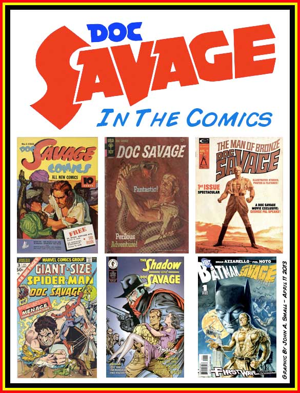 THE FOUR-COLOR PERIL: DOC SAVAGE IN THE COMICS