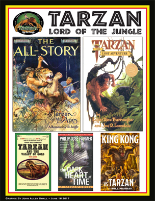THE TARZAN NOVELS IN CHRONOLOGICAL ORDER