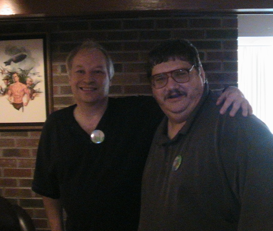 Pic Of The Day: Joe Lansdale And Me